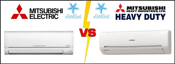 What the difference between Mitsubishi Heavy VS Mitsubishi Electric?