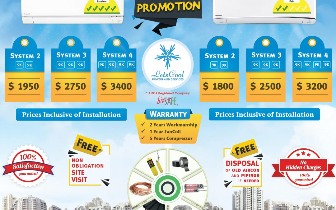 Pansonic aircon promotion