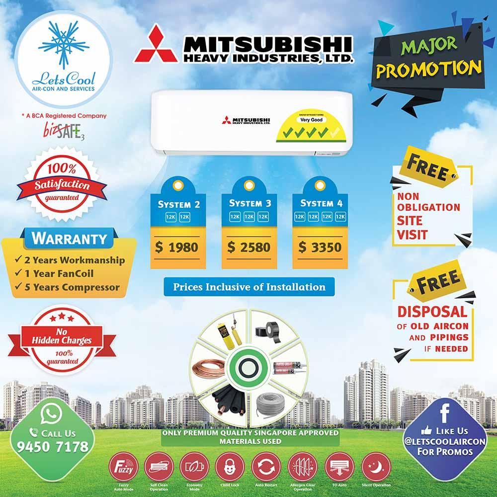 Mitsubishi heavy aircon