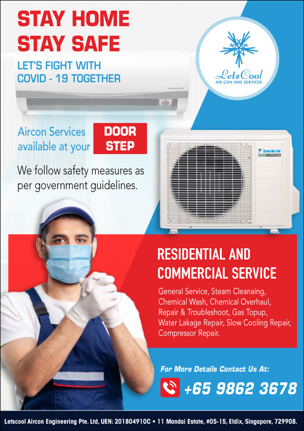 aircon service during cb in singapore