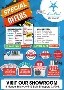 aircon promotions singapore