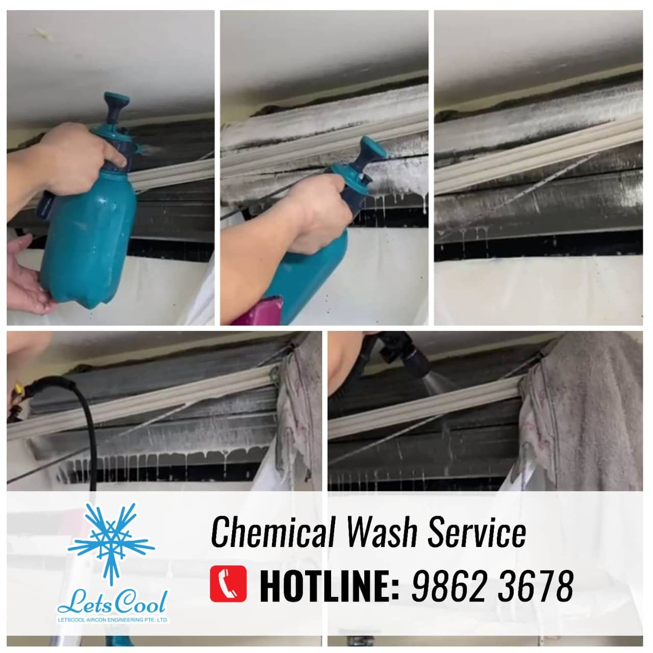 chemical wash ac service