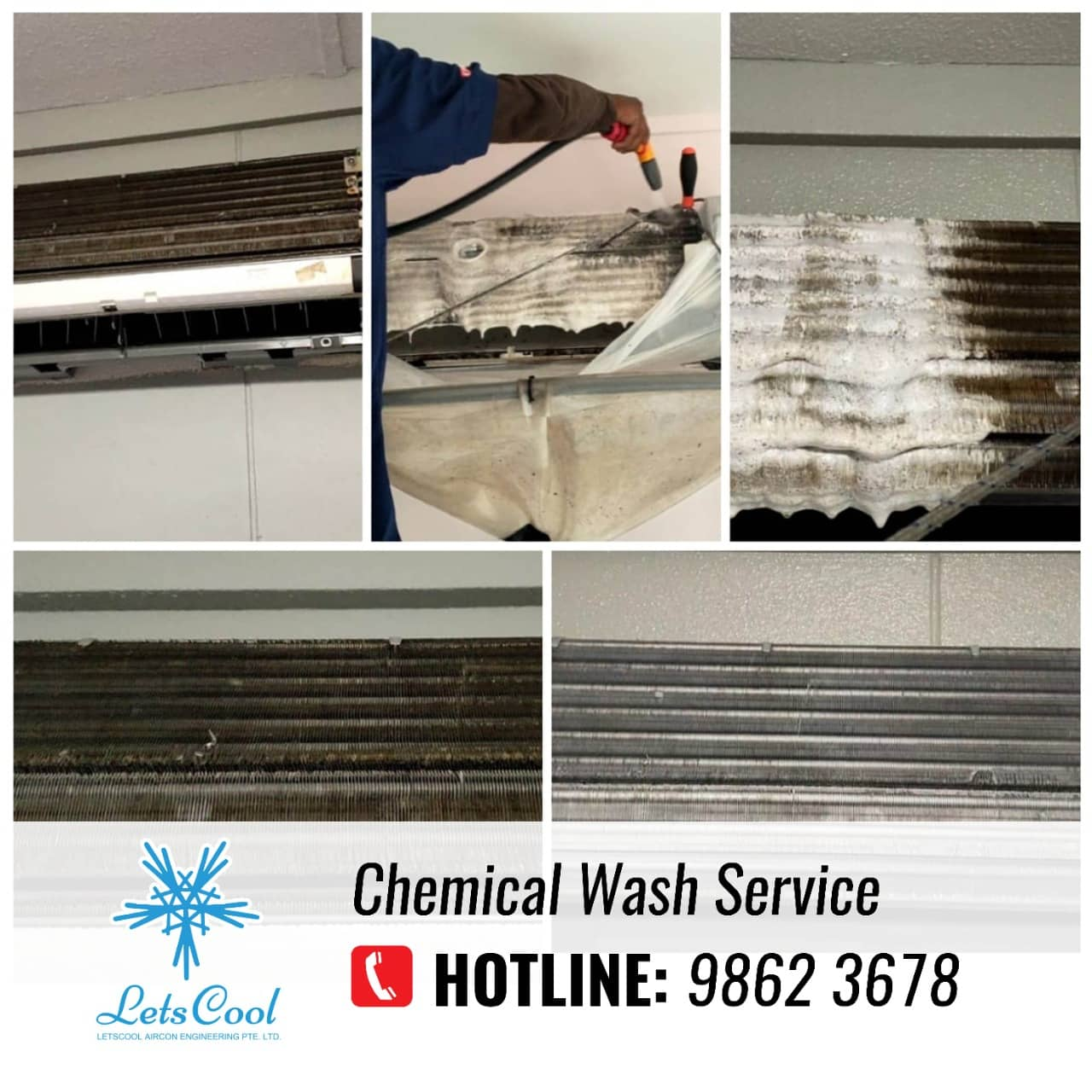 chemical wash service