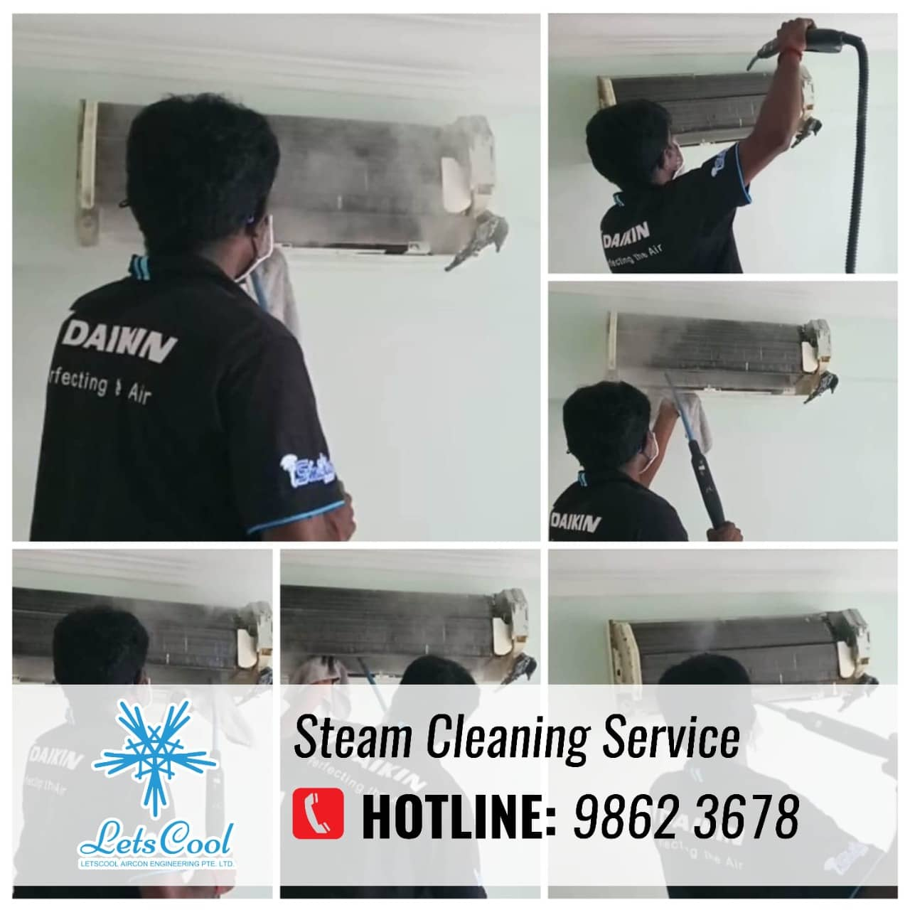 ac steam cleaning