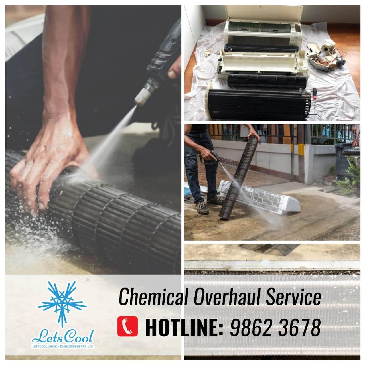 chemical overhaul service